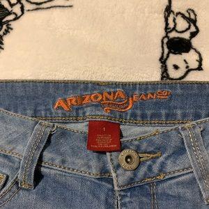 Arizona Jean Company Shorts - Light Wash Cuffed Denim Shorts